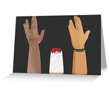Hands-volution Greeting Card