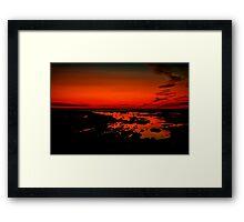 """Daybreak on Point Grey"" Framed Print"