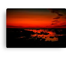 """Daybreak on Point Grey"" Canvas Print"