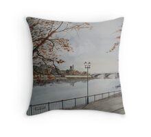 Putney Bridge Throw Pillow