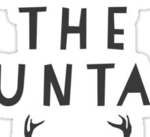 Lets Live In The Mountains Sticker