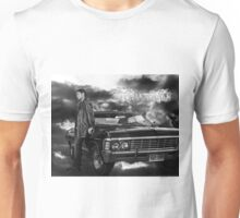 Dean Winchester, Chevy Impala Unisex T-Shirt
