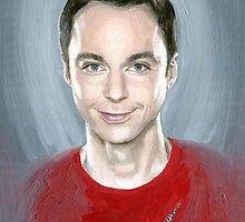 Holy Sheldon by Mariana Po