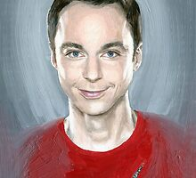 Holy Sheldon by Mariana Po