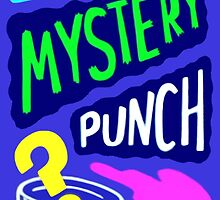 Gravity Falls Scary-Oke Mystery Punch Poster Relpica by The-Sqoou