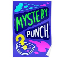 Gravity Falls Scary-Oke Mystery Punch Poster Relpica Poster