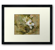 """In Hiding"" from the series ""In the Lotus Land"" Framed Print"