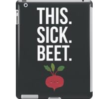 This. Sick. Beet.  iPad Case/Skin