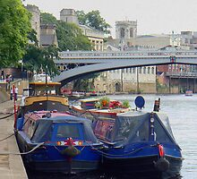 Narrow Boats by AARDVARK
