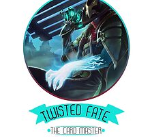 League Of Legends - Twisted Fate by TheDrawingDuo