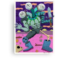 A Hero For Our Modern Times Canvas Print
