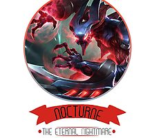 League Of Legends - Nocturne by TheDrawingDuo