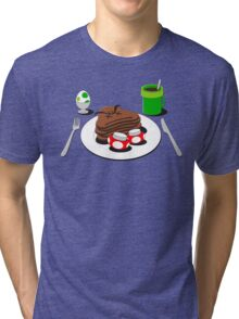 It's-a breakfast time! Tri-blend T-Shirt