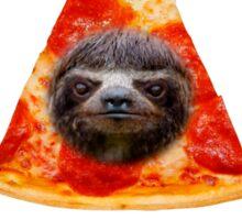 Obey the illuminati pizza sloth  Sticker