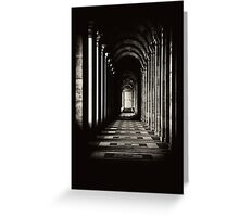 Gate to Infinity Greeting Card