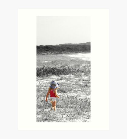 Left Behind.... Art Print