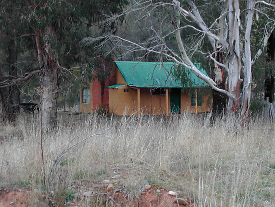 Old Cottage - Sofala NSW by Bev Woodman