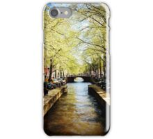 A Lazy Day on the Canal iPhone Case/Skin