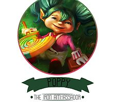 League Of Legends - Poppy by TheDrawingDuo