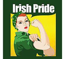 Redhead irish Pride Photographic Print
