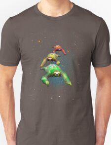 Flying space rasta sloths Unisex T-Shirt