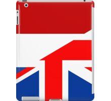 uk netherlands flag iPad Case/Skin