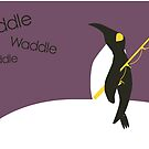 Waddle waddle waddle by Kristi Nobers