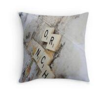 O.R.N.C.H. Throw Pillow