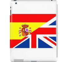 spain uk flag iPad Case/Skin
