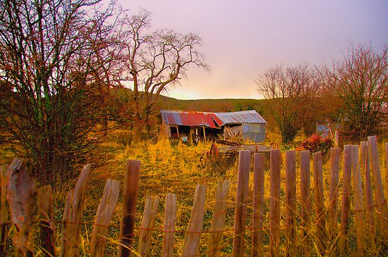 Once Upon A Time  - Hill End - The HDR Series by Philip Johnson