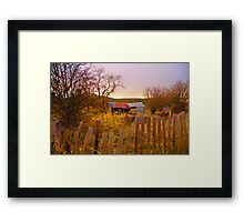 Once Upon A Time  - Hill End - The HDR Series Framed Print