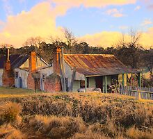 Still Standing - Hill End - The HDR Series by Philip Johnson