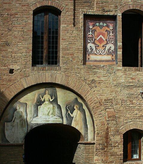 San Gimignano, Tuscany by William Mason