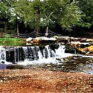 Natural Waterfall by jpryce