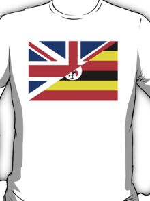 uganda uk flag T-Shirt