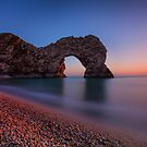 Sunset At Durdle Door by jakeof