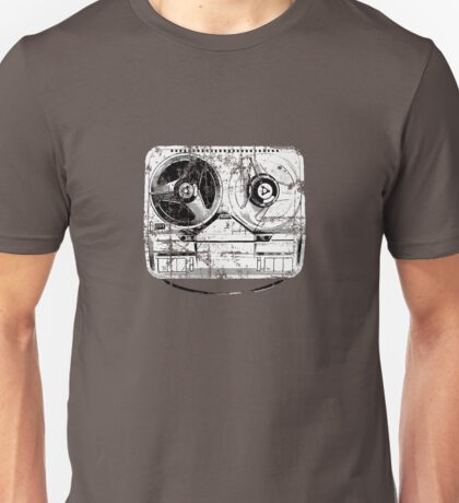 60's Style Reel to Reel Tape Deck Unisex T-Shirt