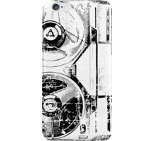 60's Style Reel to Reel Tape Deck iPhone Case/Skin
