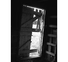 Old Barn Door Photographic Print