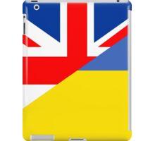 ukraine uk flag iPad Case/Skin