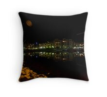 Glenelg by Night  Throw Pillow