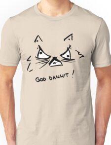 GOD DAMMIT - Rage Cat Unisex T-Shirt