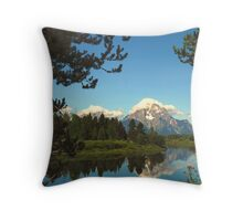 Framing Natural Perfection Throw Pillow