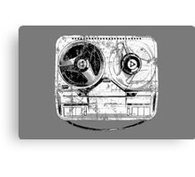 60's Style Reel to Reel Tape Deck Canvas Print