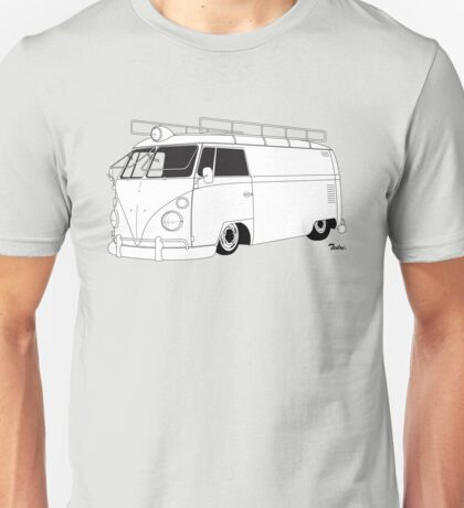 VW Type 2 Panel Van T-Shirt