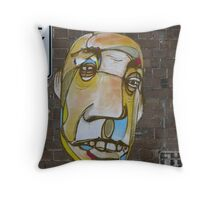 Face Brickwork by 'ears' Throw Pillow