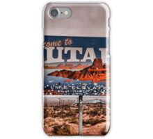Welcome to Utah iPhone Case/Skin