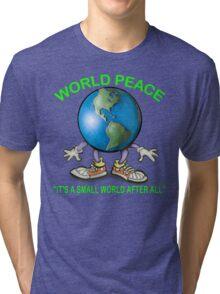World Peace Tri-blend T-Shirt
