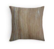 Wooden Pieces Throw Pillow