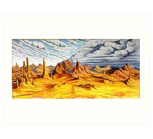 Southwest Desert Art Print